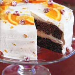Ginger Cake with Crystallized Ginger Frosting recipe
