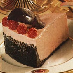 Frozen White Chocolate and Raspberry Mousse Torte recipe