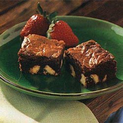 Dark Chocolate Brownies with White Chocolate Chunks recipe