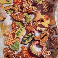 Gingerbread Cookies and Citrus Sugar Cookies recipe