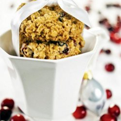 Orange Cranberry Oatmeal Cookies recipe