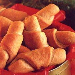 Whole Wheat Butterhorns recipe
