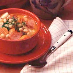 Favorite Kielbasa Bean Soup recipe