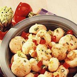 Easy Marinated Mushrooms recipe