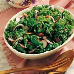 Wilted Leaf Lettuce Salad recipe