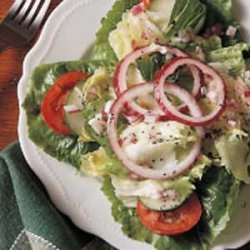 Green Salad with Poppy Seed Dressing recipe