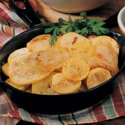 Skillet Squash and Potatoes recipe