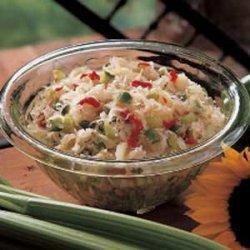 Cold Sauerkraut Salad recipe