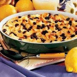 Lemon Bread Pudding recipe