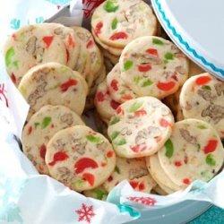 Cherry Christmas Slices recipe