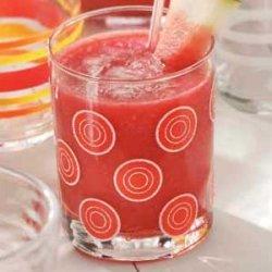 Strawberry Watermelon Slush recipe