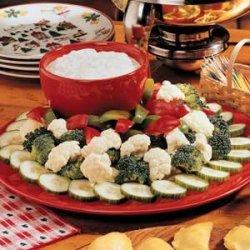 Dill Vegetable Dip recipe