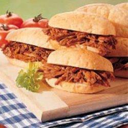 Shredded Pork Sandwiches recipe