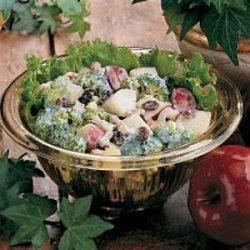 Broccoli Apple Salad recipe