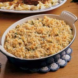 Corn 'n' Broccoli Bake recipe
