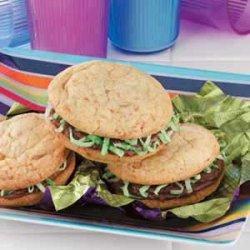 Cookie Burgers recipe