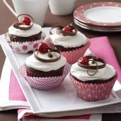 Chocolate Cherry Cupcakes recipe