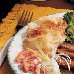 Scalloped Potatoes and Onions recipe