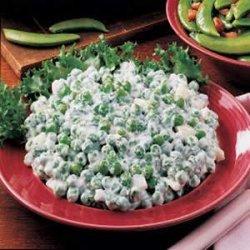 Minted Pea Salad recipe