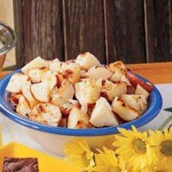 Oven Potato Wedges recipe