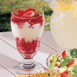 Strawberry Lemon Parfaits recipe
