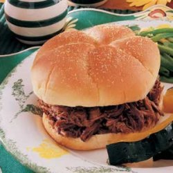 Dilly Beef Sandwiches recipe