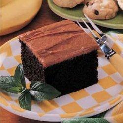 Banana Fudge Cake recipe