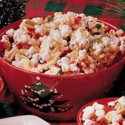 Popcorn Almond Brittle recipe