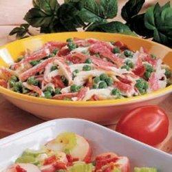 Crab and Pea Salad recipe