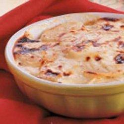 Creamy Scalloped Potatoes recipe