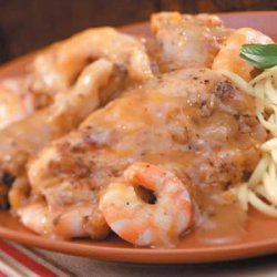 Herbed Chicken and Shrimp recipe