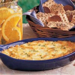 Baked Onion Dip recipe