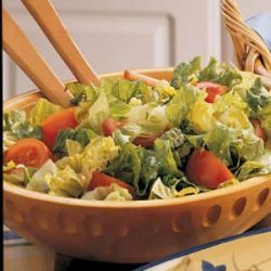 Tomato Tossed Salad recipe