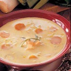 Curried Leek Soup recipe