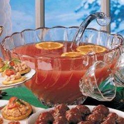Rosy Fruit Punch recipe