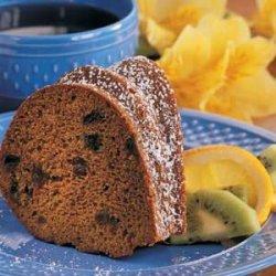 Prune Bundt Cake recipe