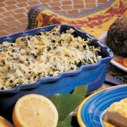 Noodles Florentine recipe