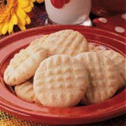 Crispy Butter Cookies recipe