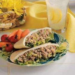 Tuna Salad Pockets recipe