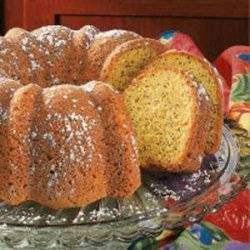 Poppy Seed Bundt Cake recipe