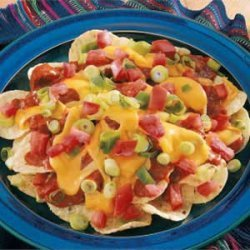 Easy Cheesy Nachos recipe