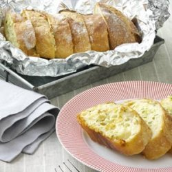 Chive Garlic Bread recipe
