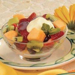 Lemonade Fruit Dressing recipe