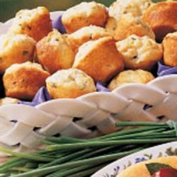 Chive Mini Muffins recipe