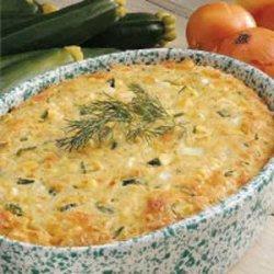 Dilly Zucchini Casserole recipe