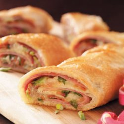 Ham and Swiss Stromboli recipe