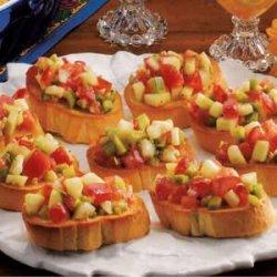 Veggie French Bread recipe