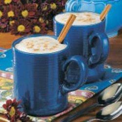 Spiced Coffee with Cream recipe