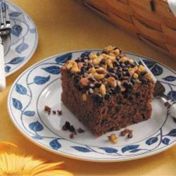 Apple German Chocolate Cake recipe