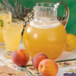 Minty Pineapple Punch recipe